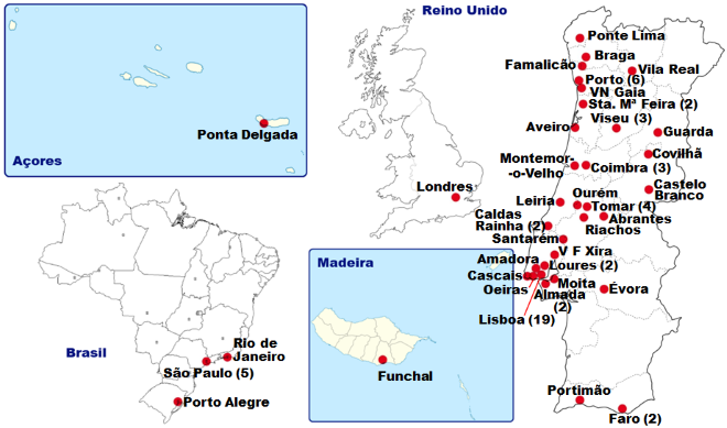 Mapa Reuma.pt